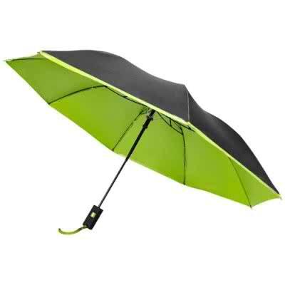 """Parapluie 21 """" pliant 2 sections automatique Spark"""