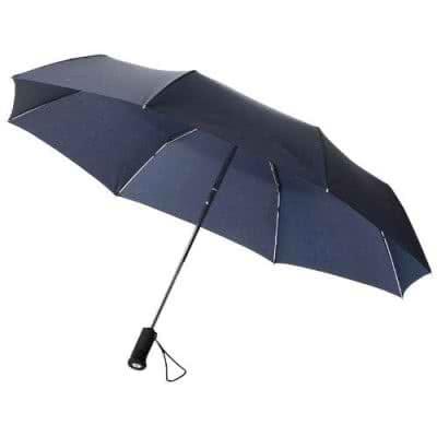 """Parapluie 21.5"""" - 3 sections avec lumière"""