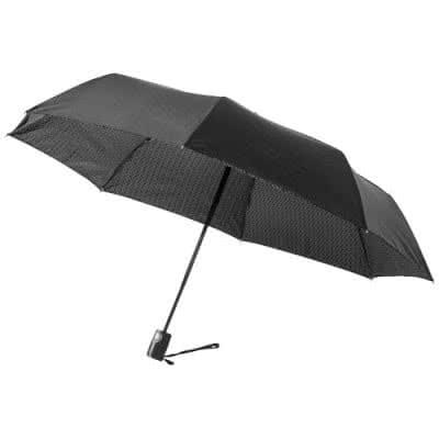 """Parapluie 3 sections à ouverture/fermeture automatique 21"""" Floyd"""